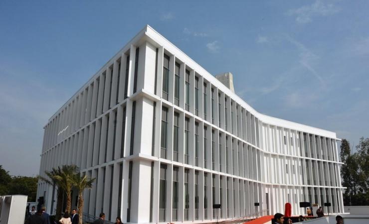 Ny ambassade i Indien indviet