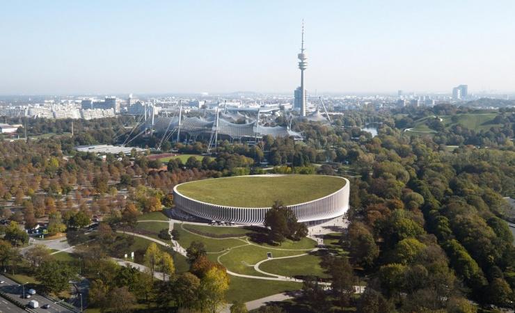 3XN designer arena i OL-park 47 år efter legene