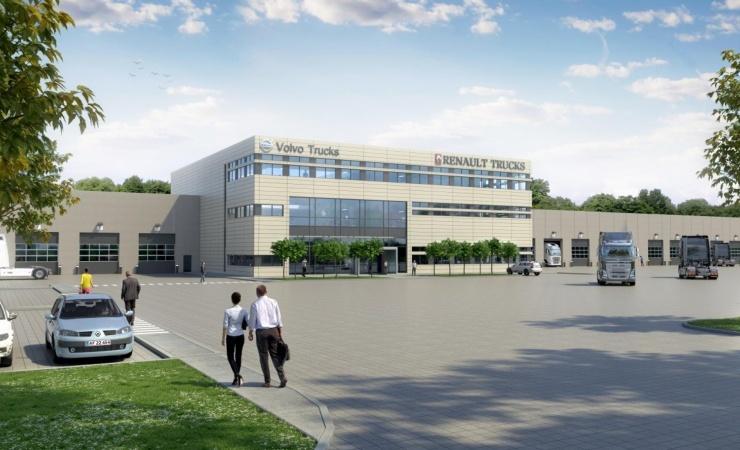 DS Flexhal vinder Volvos hovedkvarter