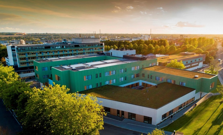 Nyt hospitalsbyggeri er klar til patienter