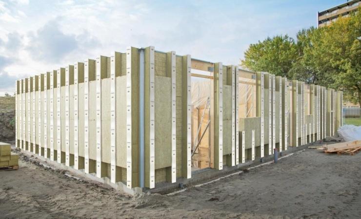 Nyt boligområde får bæredygtigt byggesystem fra Rockwool