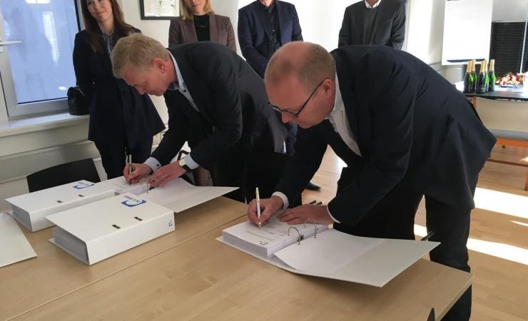 Partnerskab laver rammeaftale på 2,4 milliarder kroner med fsb