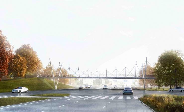 Broekspert skal bygge bro over Folehaven