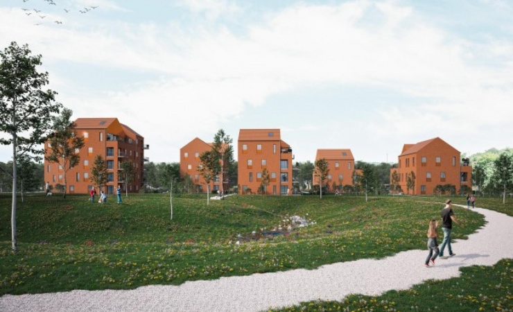 Raundahl & Moesby igangsætter nyt boligprojekt centralt i Kolding