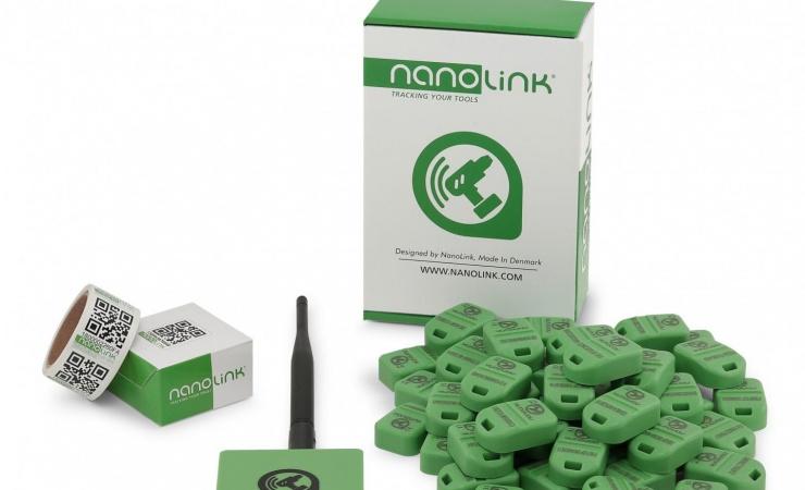 NANOLINK holder styr på jeres materiel. Enkelt, effektivt og fuldautomatisk.