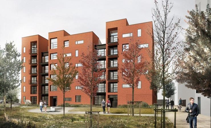 Juul Frost Arkitekter runder 500 boliger i svensk forstad