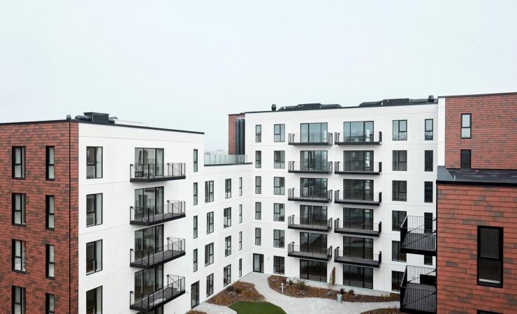 Enemærke & Petersen afleverer boligbyggeri to måneder før tid