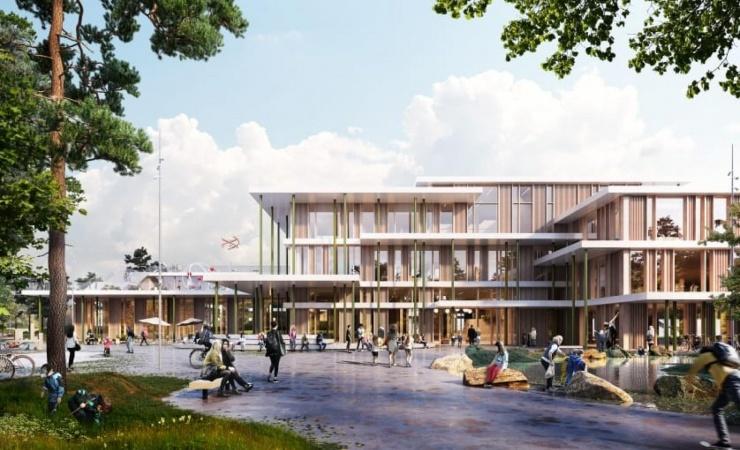 Arkitema bag ny bæredygtig træskole