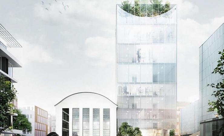 Sundhedshus skyder i vejret i Aarhus