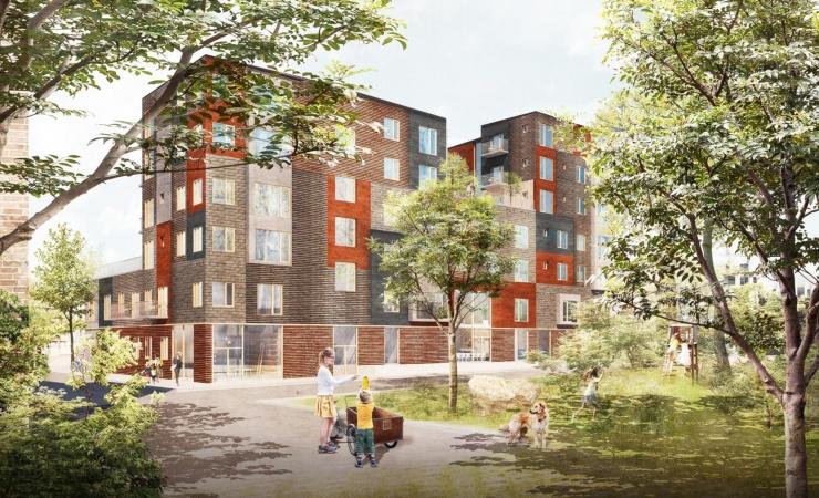 Jönsson skal bygge fælleskabs-boliger på Køge Kyst