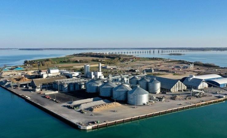 DLG fremviser landets største kornterminal