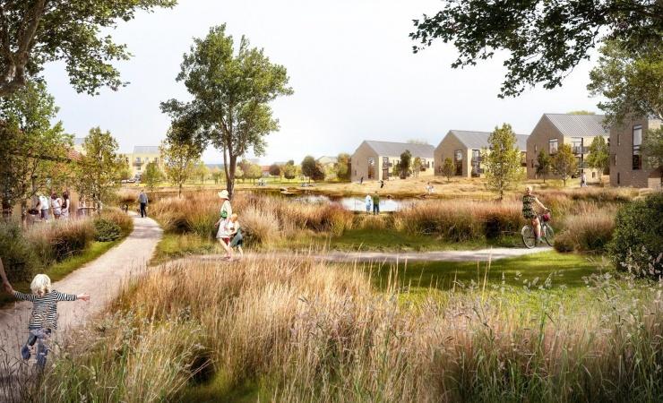 Horsens Kommune sælger grønt område og får boligområde tilbage