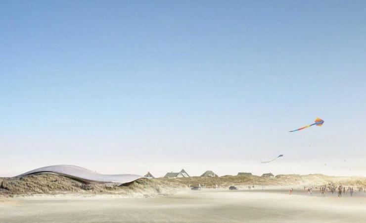 """DNF siger """"nej tak"""" til BIG's klitprojekt på Fanø"""