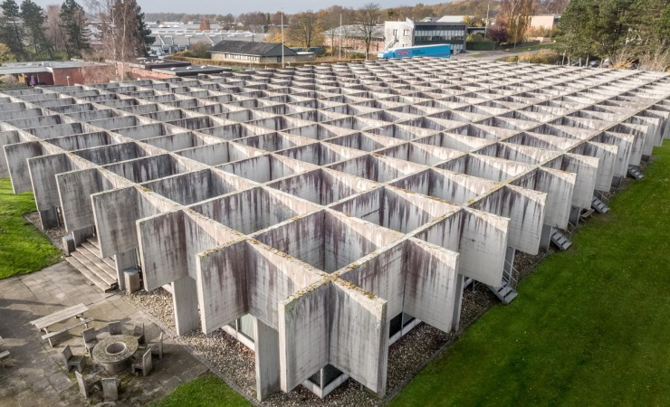 Realdania vil renovere unikt betonbyggeri fra 60'erne