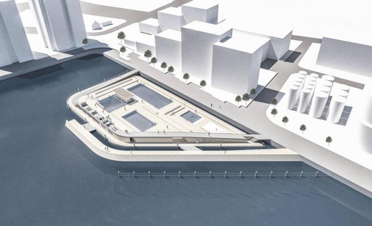 Rigmand medfinansierer nyt havnebad i Horsens
