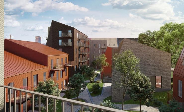 Patrizia køber Aarhus-projekt med 136 boliger
