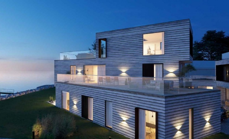Ugens projekt: 19 boliger ved Vallø Strand