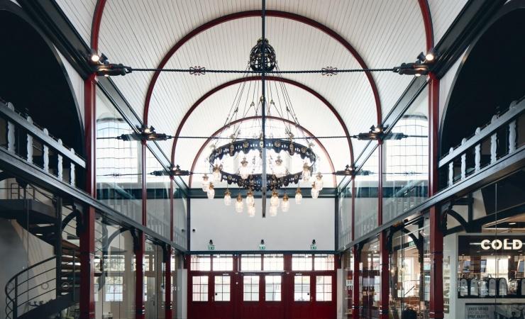 Østerport Station står klar i gammel form