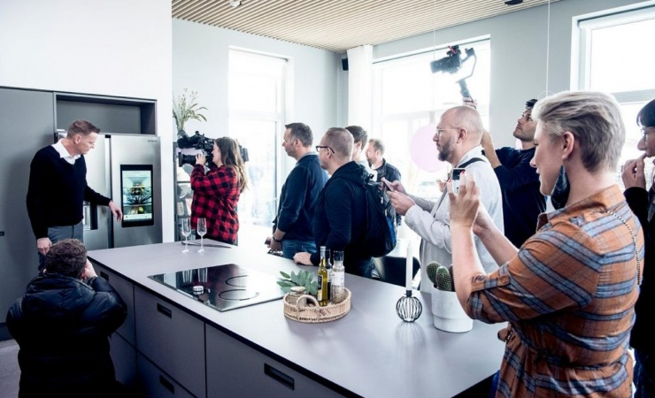 Nettet drillede ved åbning af tech-hus