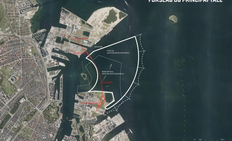 By & Havn jagter idéer og forslag til anlæg af Lynetteholm