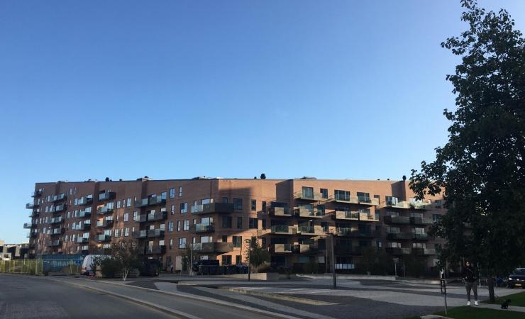 Balder-byggeri i Ørestad er klar til indflytning