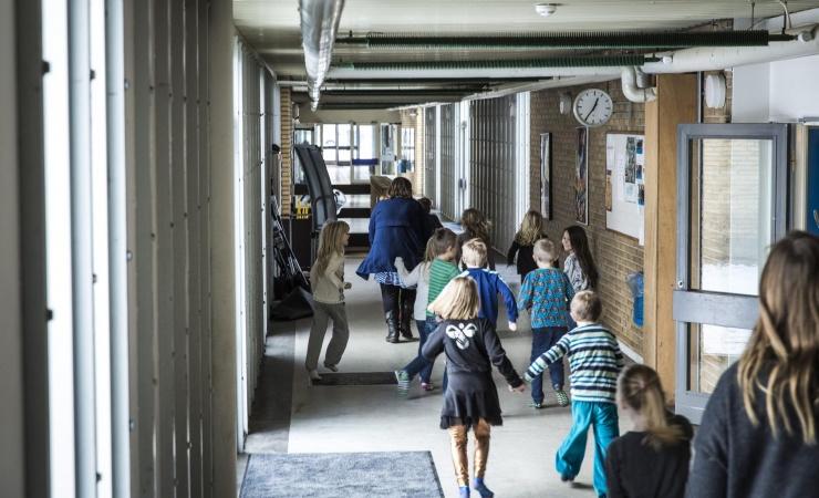 Luftkvalitet per smartphone på Bornholms skoler