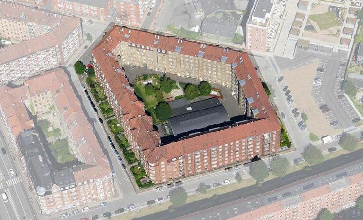 JFP Murer & Tømrer skal renoverer stor Amager-karré