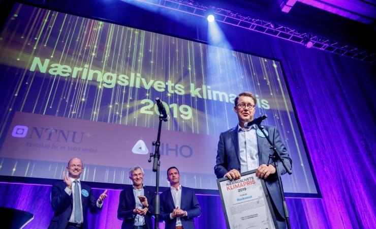 Rockwool modtager klimapris i Oslo