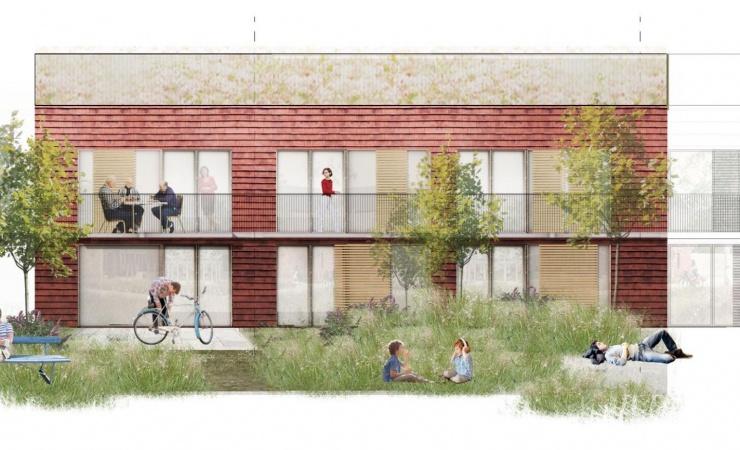 Ringsted får 210 nye boliger