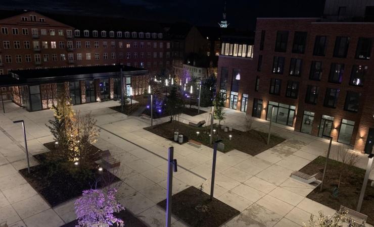 Nu åbner den nye Budolfi Plads i Aalborg