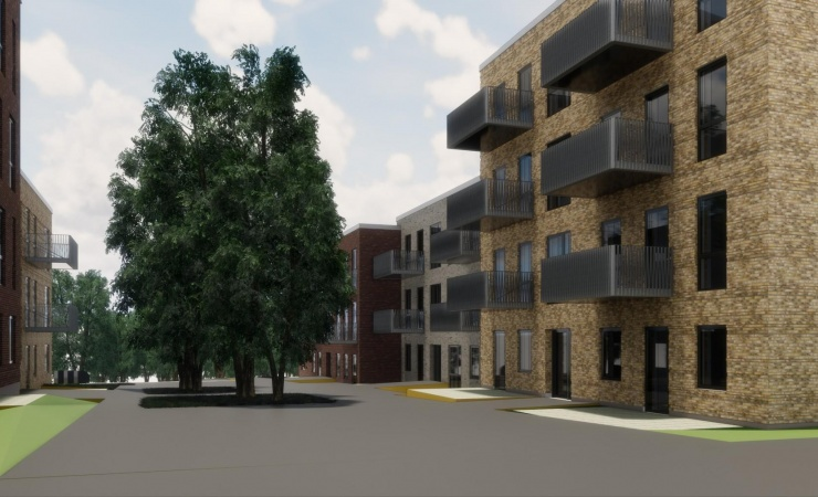 Ugens projekt: 106 boliger i Bindesbøll Byen