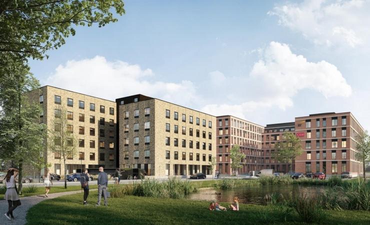 Skjøde bygger bæredygtige domiciler i Odense til 300 millioner