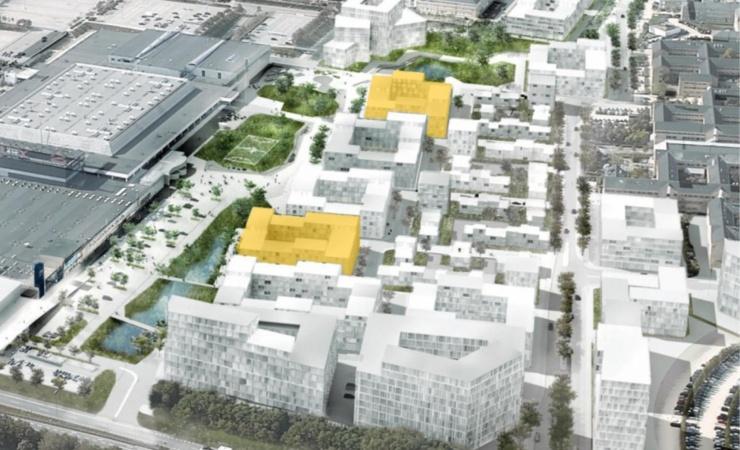 Balder køber to byggefelter i Høje Taastrup C