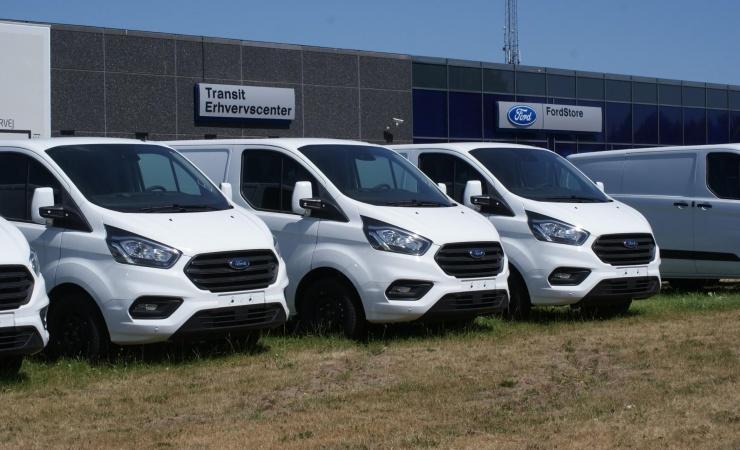 Opløftende salg af nye varebiler