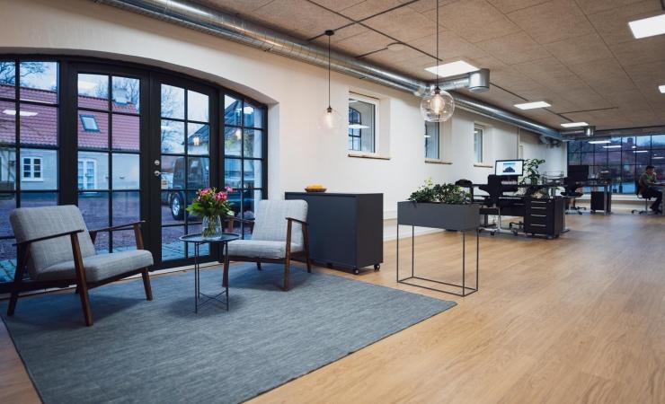 Fra lade til moderne kontorbyggeri