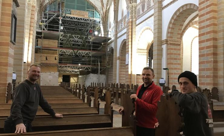 Tømrere møder tømrersønnen fra Nazareth