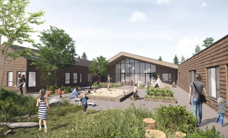 Horsens bygger bæredygtigt børnehus
