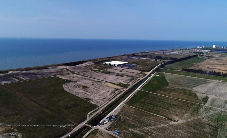 Hollændere bygger arbejdshavn til Femern-tunnelen