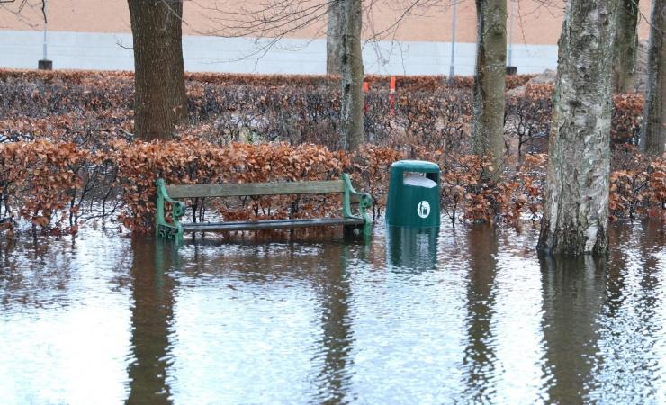 Nyt forskningsprojekt skal gøre byer bedre i stand til at håndtere vandet