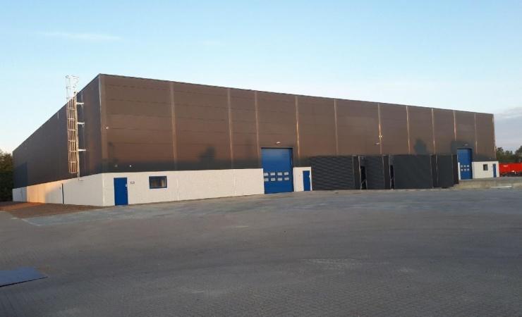 NCC bygger haller på havnen i Aalborg