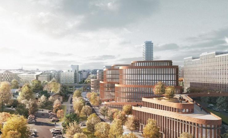 3XN vinder konkurrence om kontorbygning i Stockholm