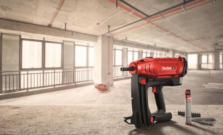 Ny gasdrevet sømpistol sikrer hurtig fastgørelse
