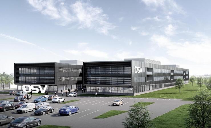 DSV opfører center til to milliarder ved Horsens