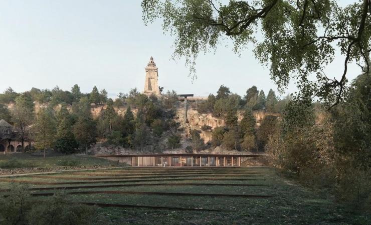 Cobe skal designe besøgscenter til Tysklands tredjehøjeste monument