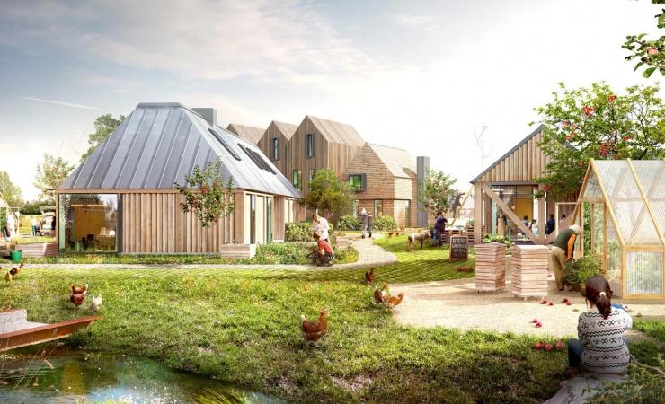 Fra bar mark til fremtidens cirkulære bydel i Holstebro