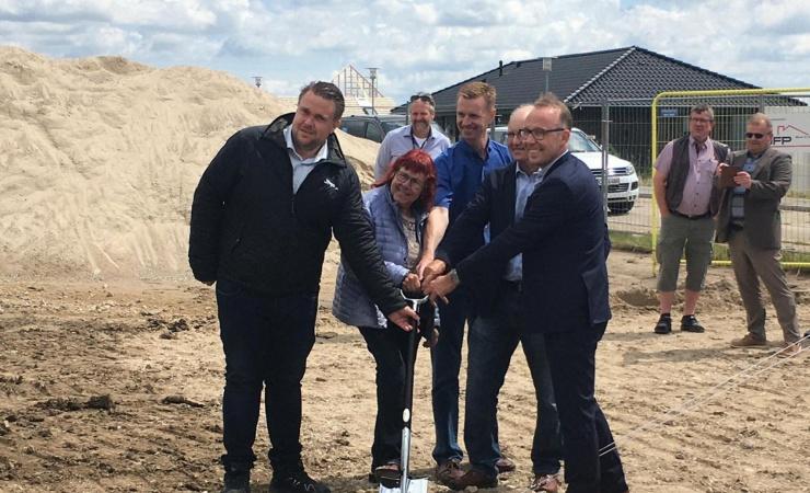 JFP-datter skal bygge alment i Haslev