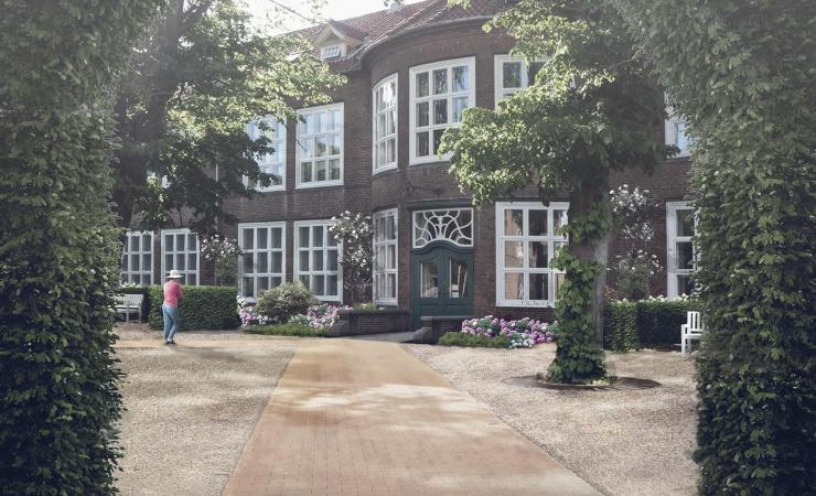 Nu genopstår de helende haver på Bispebjerg Hospital