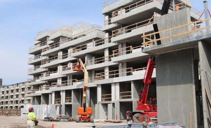 Byggebeskæftigelsen: Syv års fremgang brudt