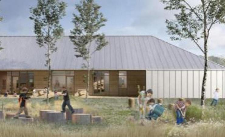 Knebel-firma skal bygge naturinstitution i Hornslet
