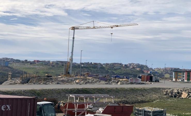 Grønlandsk efterspørgsel på Ajos-kraner
